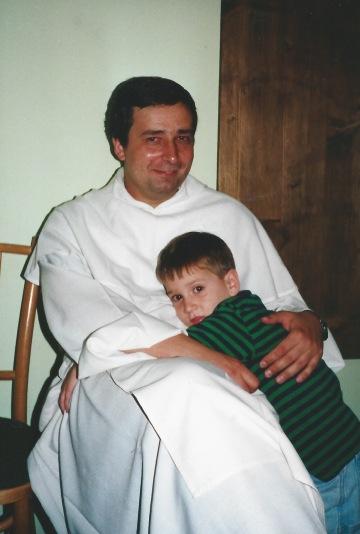 with Fr. Jarek