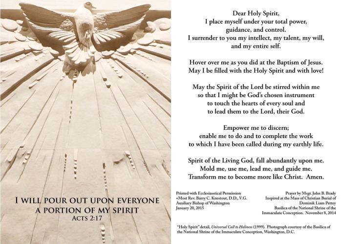 Trinity Prayer Card 2